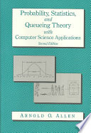 Probability  Statistics  and Queueing Theory