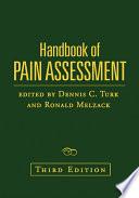 Handbook of Pain Assessment  Third Edition