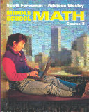 Scott Foresman-Addison Wesley Middle School Math
