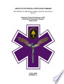 United States Special Operations Command Department Of Emergency Medical Service And Public Health Advanced Tactical Practitioner Atp Certification Examination Student Study Guide