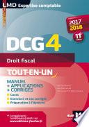 DCG 4   Droit fiscal   Manuel et applications   2017 2018   11e   dition