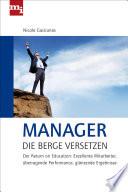 Manager  die Berge versetzen