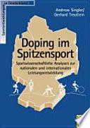 Doping im Spitzensport