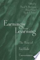 Earnings from Learning