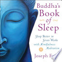Buddha's Book Of Sleep : our doctors for advice, but...