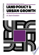 Land Policy And Urban Growth book