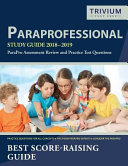 Paraprofessional Study Guide 2018 2019