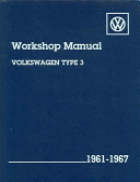Volkswagen Type 3 Workshop Manual