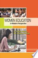 WOMEN EDUCATION IN MODERN PERSPECTIVE