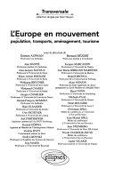 L Europe en mouvement