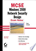 Mcse Windows 2000 Network Security Design Exam Notes