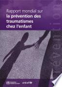 illustration Rapport mondial sur la prévention des traumatismes chez l'enfant