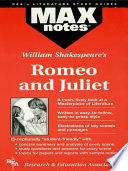 Romeo and Juliet (MAXNotes Literature Guides)