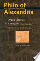 Philo S Flaccus