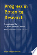 Progress In Botanical Research book