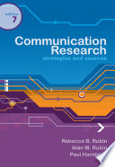 Communication Research  Strategies and Sources