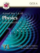 New A Level Physics for OCR A  Year 1   AS Student Book with Online Edition