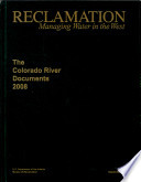 Colorado River Documents 2008 (Hardcover Book and Autoloading DVD)