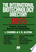 International Biotechnology Directory book