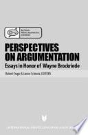 Perspectives on Argumentation