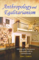 download ebook anthropology and egalitarianism pdf epub