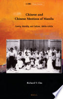 Chinese and Chinese Mestizos of Manila