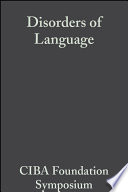 Disorders of Language