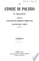 Le storie di Polibio da Megalopoli