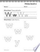 Pre Kindergarten Foundational Phonics Skills  Primary Sound w