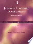 Japanese Economic Development