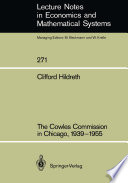 The Cowles Commission in Chicago  1939   1955