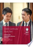CIMA Fundamentals of Business Economics