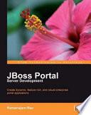 JBoss Portal Server Development Cover Image