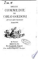 Delle commedie di Carlo Goldoni avvocato veneto  Tomo 1    17