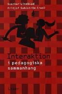 Interaktion i pedagogiska sammanhang