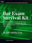 Bar Exam Survival Kit