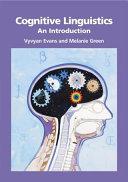 download ebook cognitive linguistics pdf epub