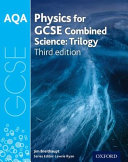 AQA GCSE Physics for Combined Science  Trilogy  Student Book