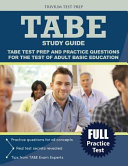 Test of Adult Basic Education Study Guide