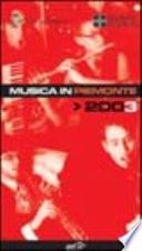 Musica in Piemonte 2003