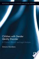 Children with Gender Identity Disorder