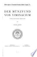 Der Münzfund von Viminacium