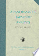 A Panorama of Harmonic Analysis