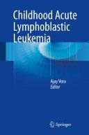 download ebook childhood acute lymphoblastic leukemia pdf epub