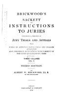 download ebook brickwood's sackett on instructions to juries pdf epub