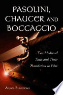 Pasolini  Chaucer and Boccaccio