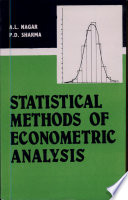 Statistical Methods of Econometric Analysis