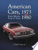 American Cars 1973 1980