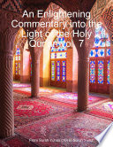 An Enlightening Commentary Into the Light of the Holy Qur an