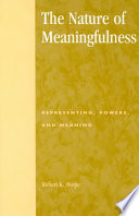 The Nature of Meaningfulness